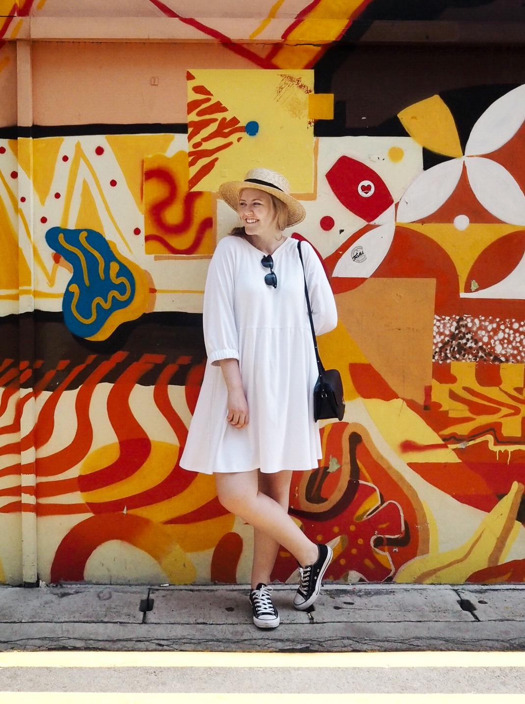 haji lane street art