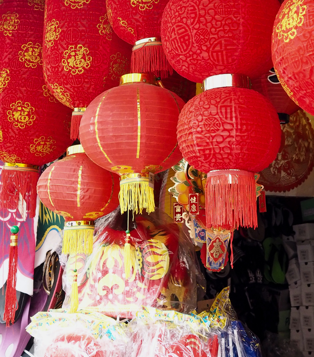 chinese paper lamps