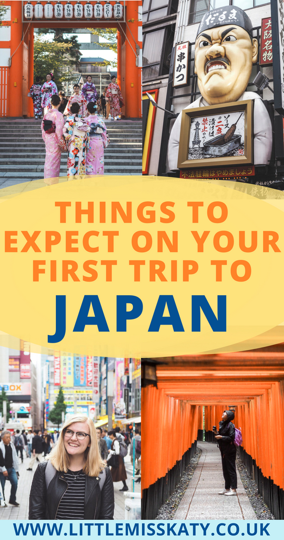 things to expect on your first trip to Japan