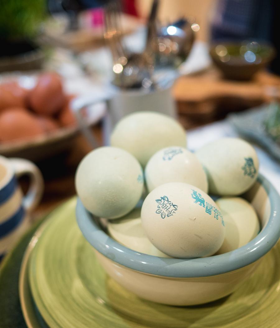 heritage breed royal legbar eggs