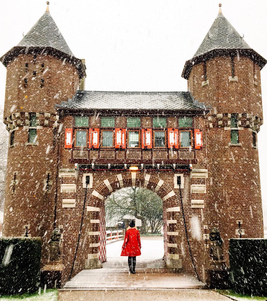 de haar castle snow