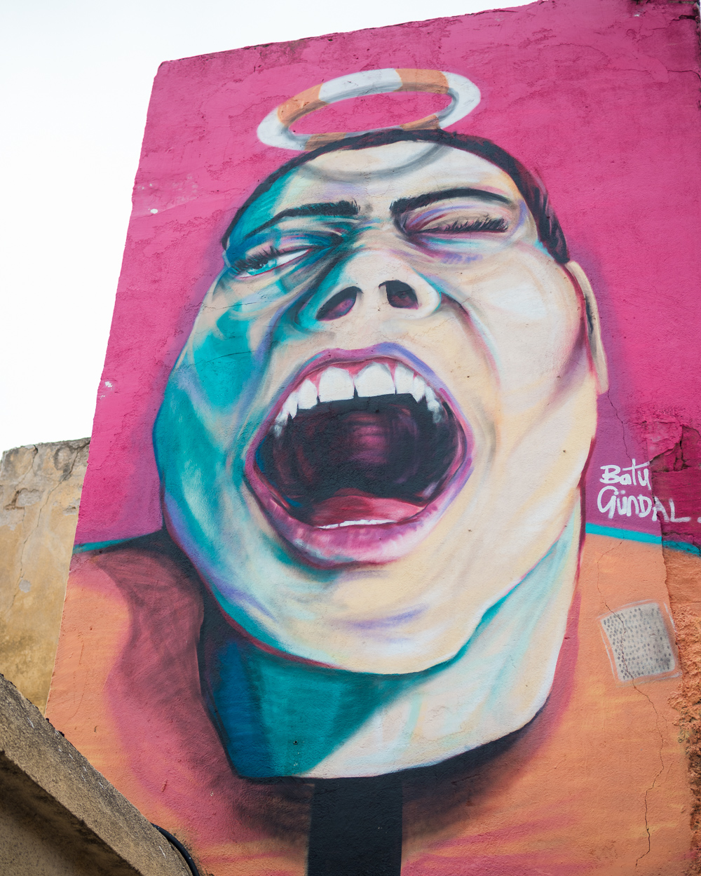 street art in Paphos