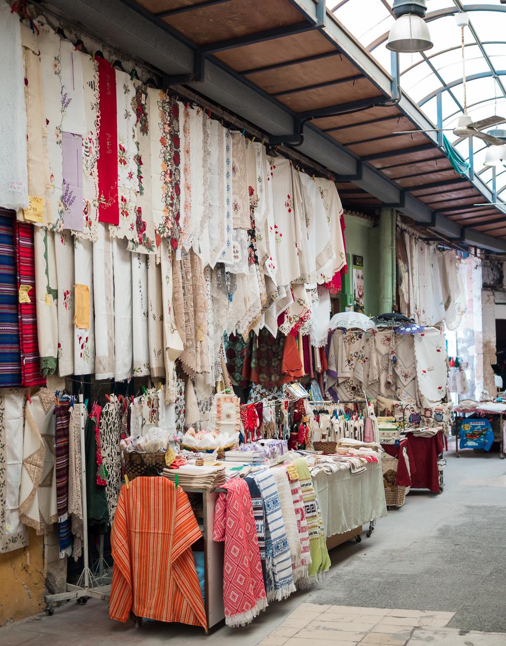 Paphos covered market
