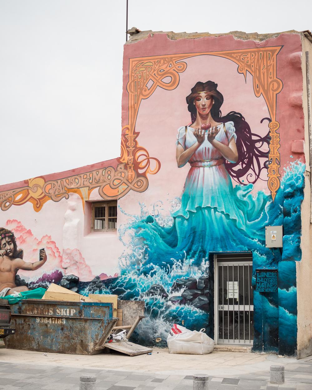 street art Paphos cyprus