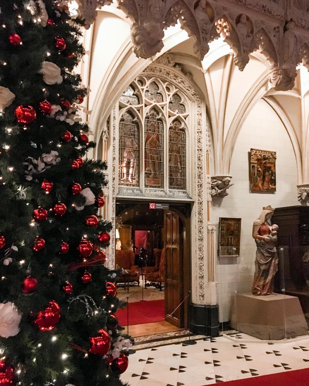 de haar castle at christmas