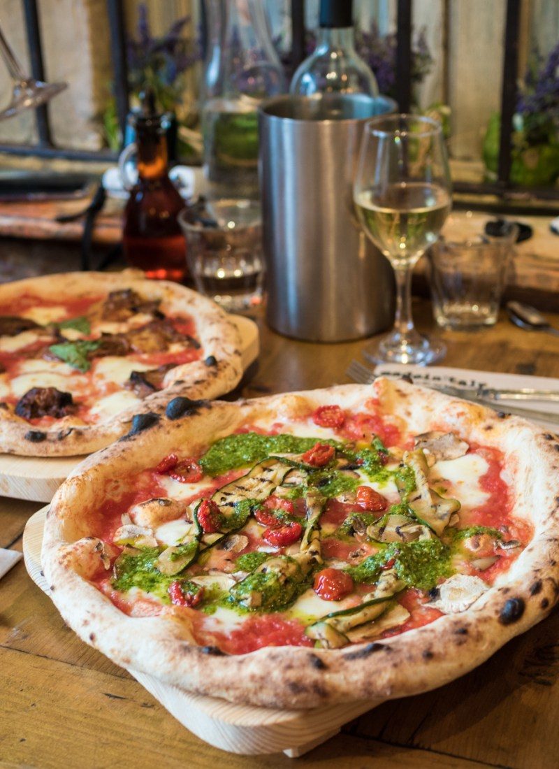 Pizza at Made In Italy, Chelsea