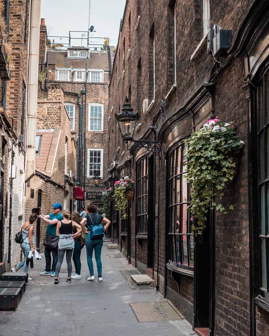 diagon alley in london