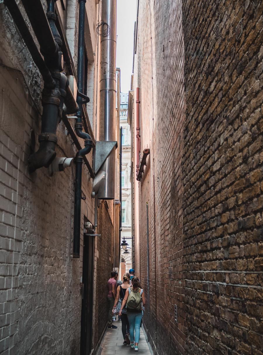 smallest street in london