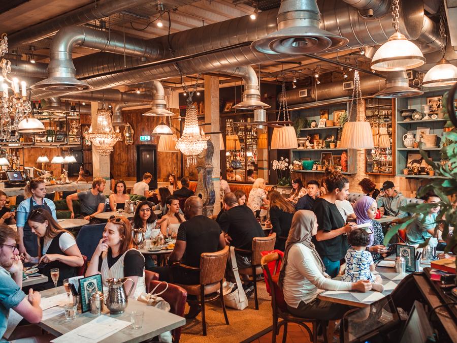 Bills Restaurant St Martin's Courtyard