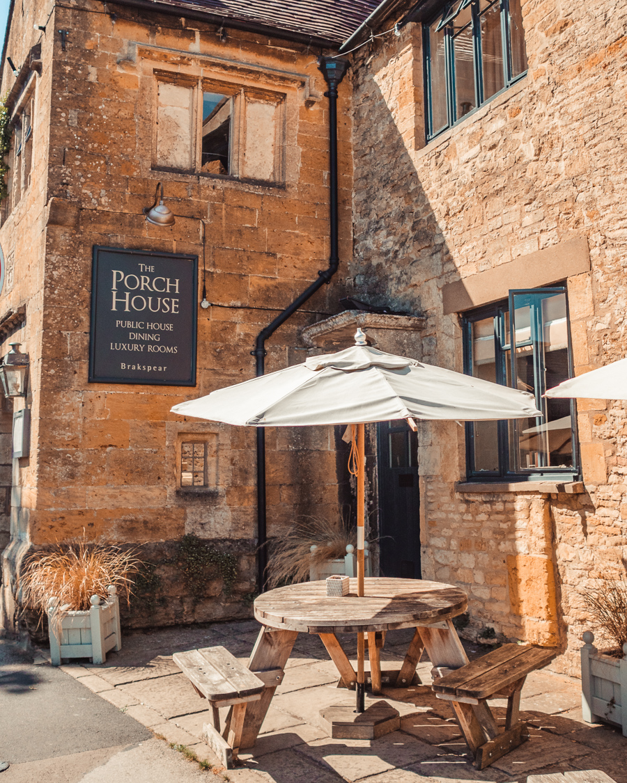 The Porch House in Stow-on-the-Wold