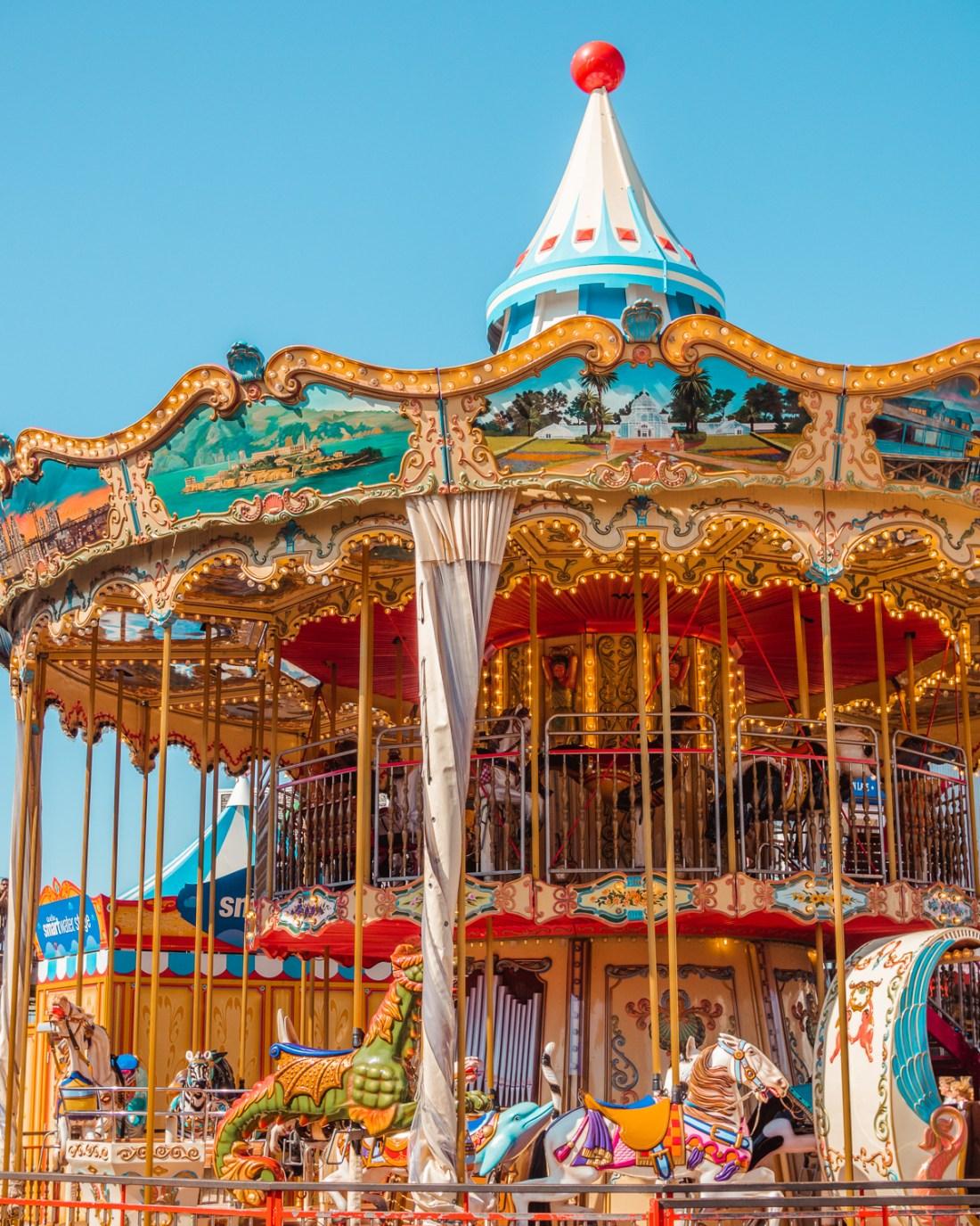 carousel at Pier 39 in San Francisco