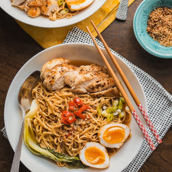 easy chilli chicken ramen recipe
