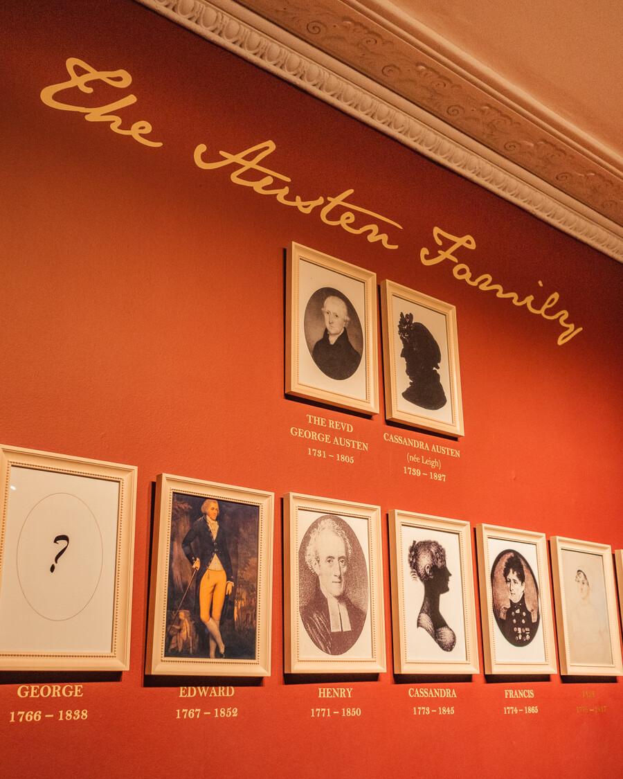 Jane Austen family tree