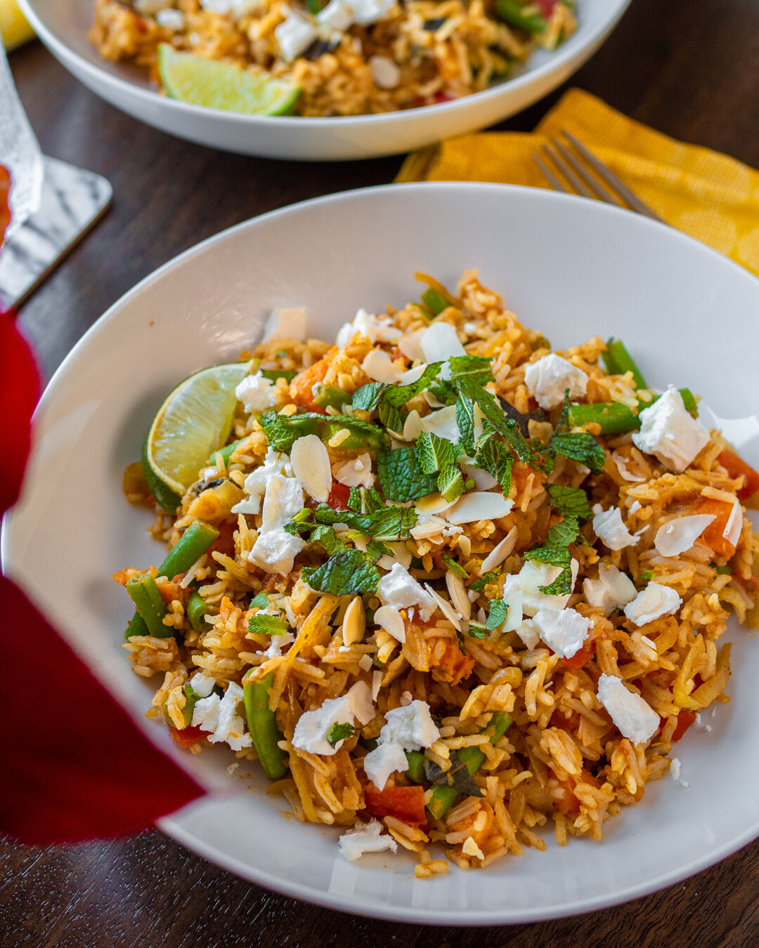 aromatic sweet potato biryani recipe by hello fresh