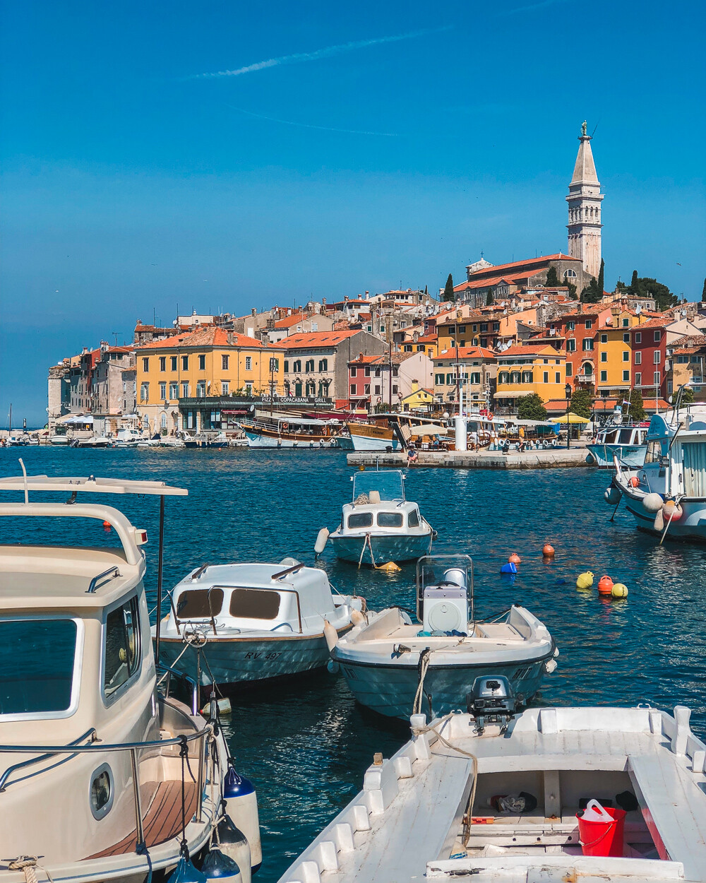 colorful town of Rovinj