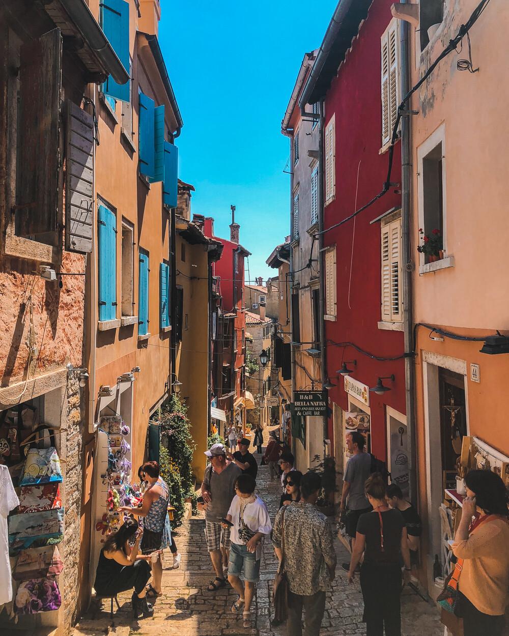 Rovinj town, Istria