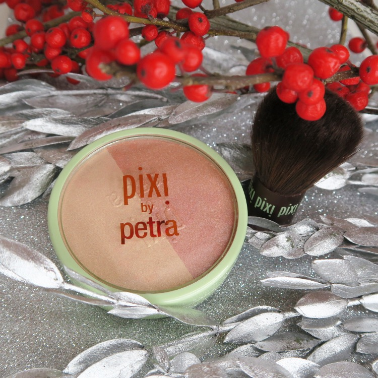 PIXI beauty blush and kabuki duo