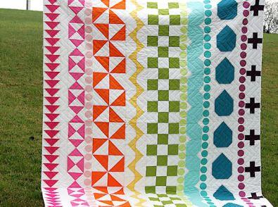 Rainbow Rows Quilt
