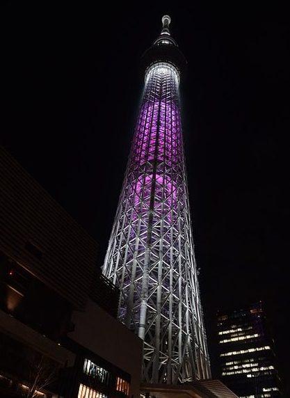 Tokyo Skytree by night