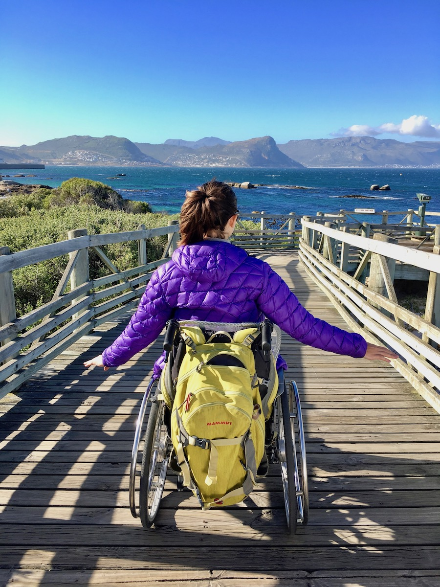 Wheelchair-accessible path to the Penguins at Boulders Beach