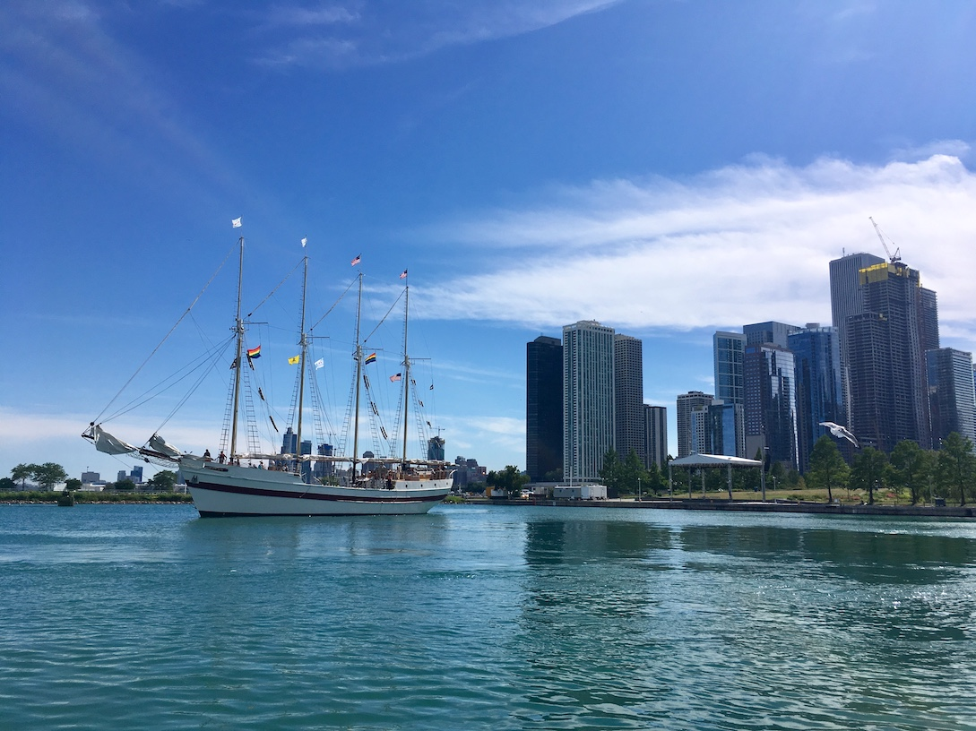 View from Navy Pier | Little Miss Turtle