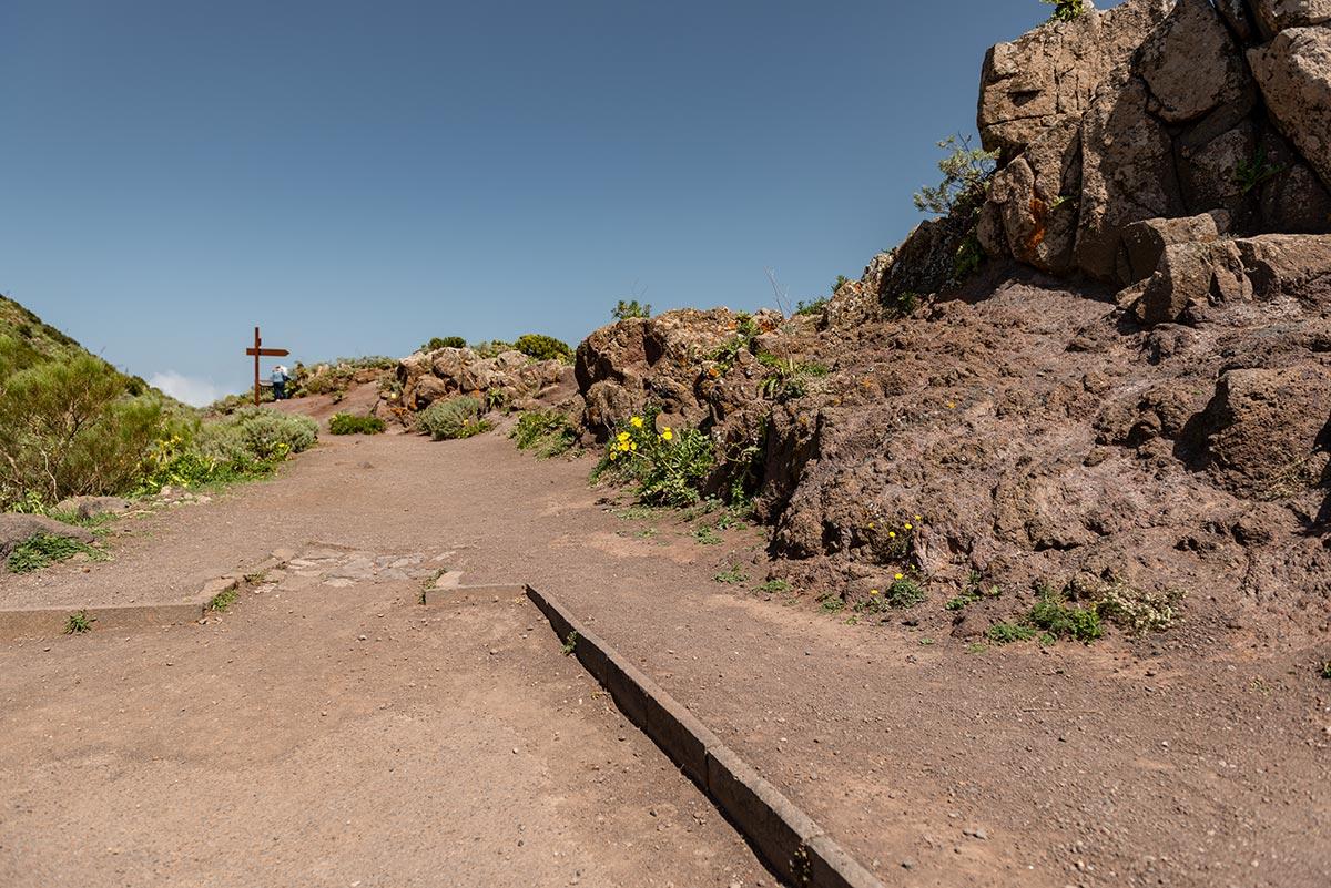Access ramp at Mirador Altos de Baracán