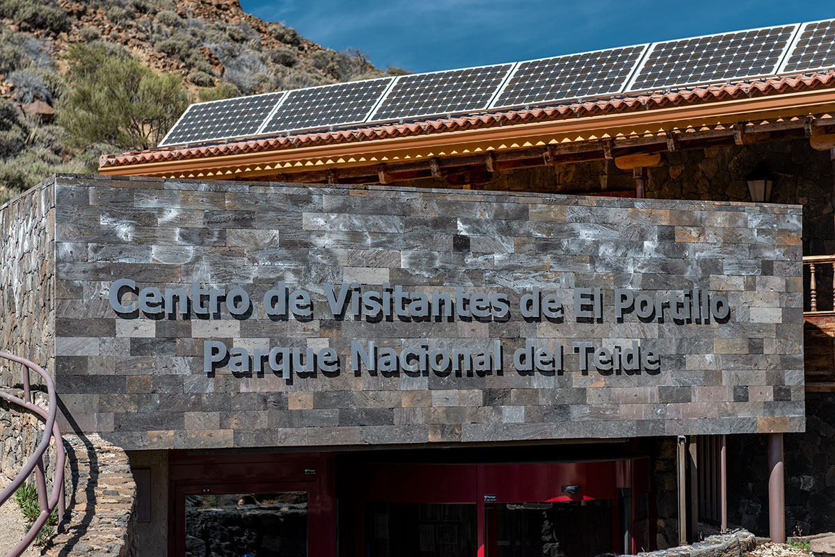 El Portillo Visitor Center Teide National Park