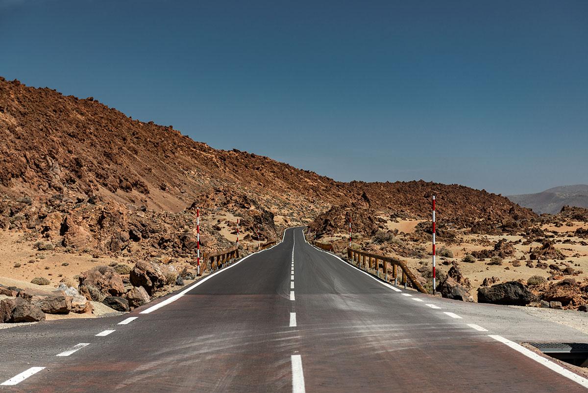 Landscape in Teide National Park