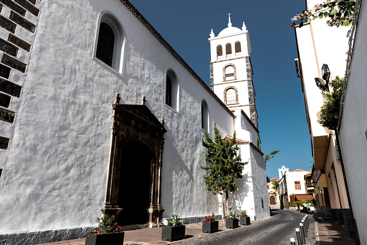 Santa Ana Church in Garachico
