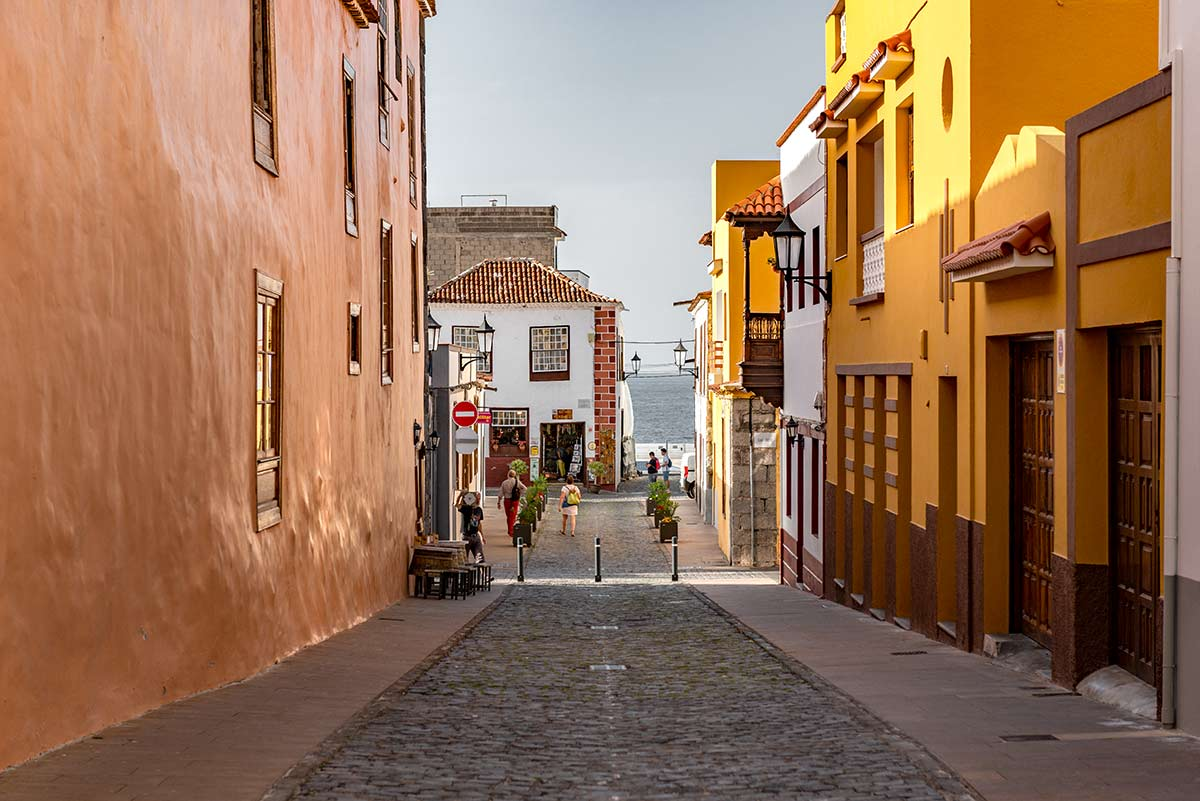 Street in Garachico