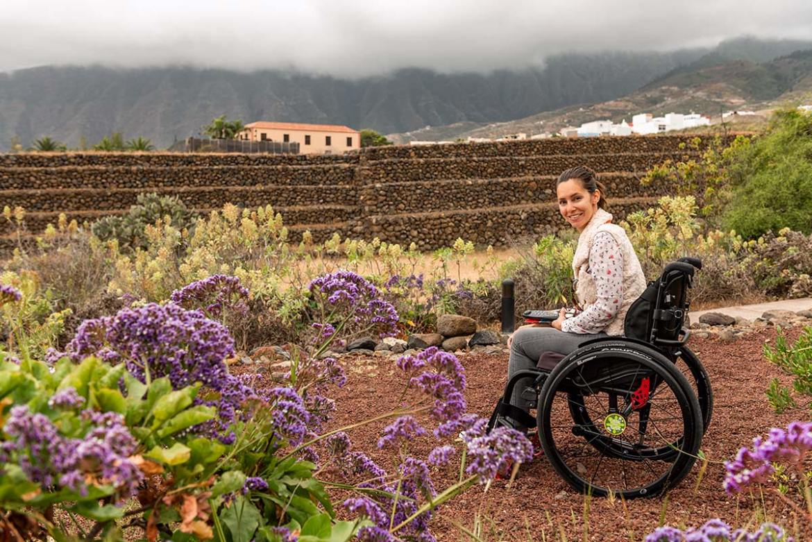 Wheelchair-accessible Ethnographic Park Piramides de Güimar | Accessible Travel | Wheelchair Travel | Little Miss Turtle ©