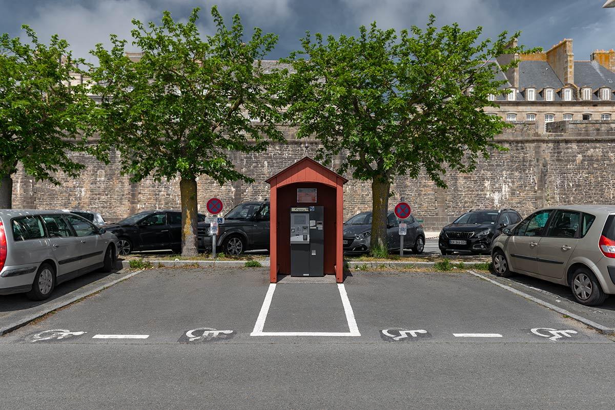 Car Park Gate Dinan | Little Miss Turtle | Wheelchair Travel Blog
