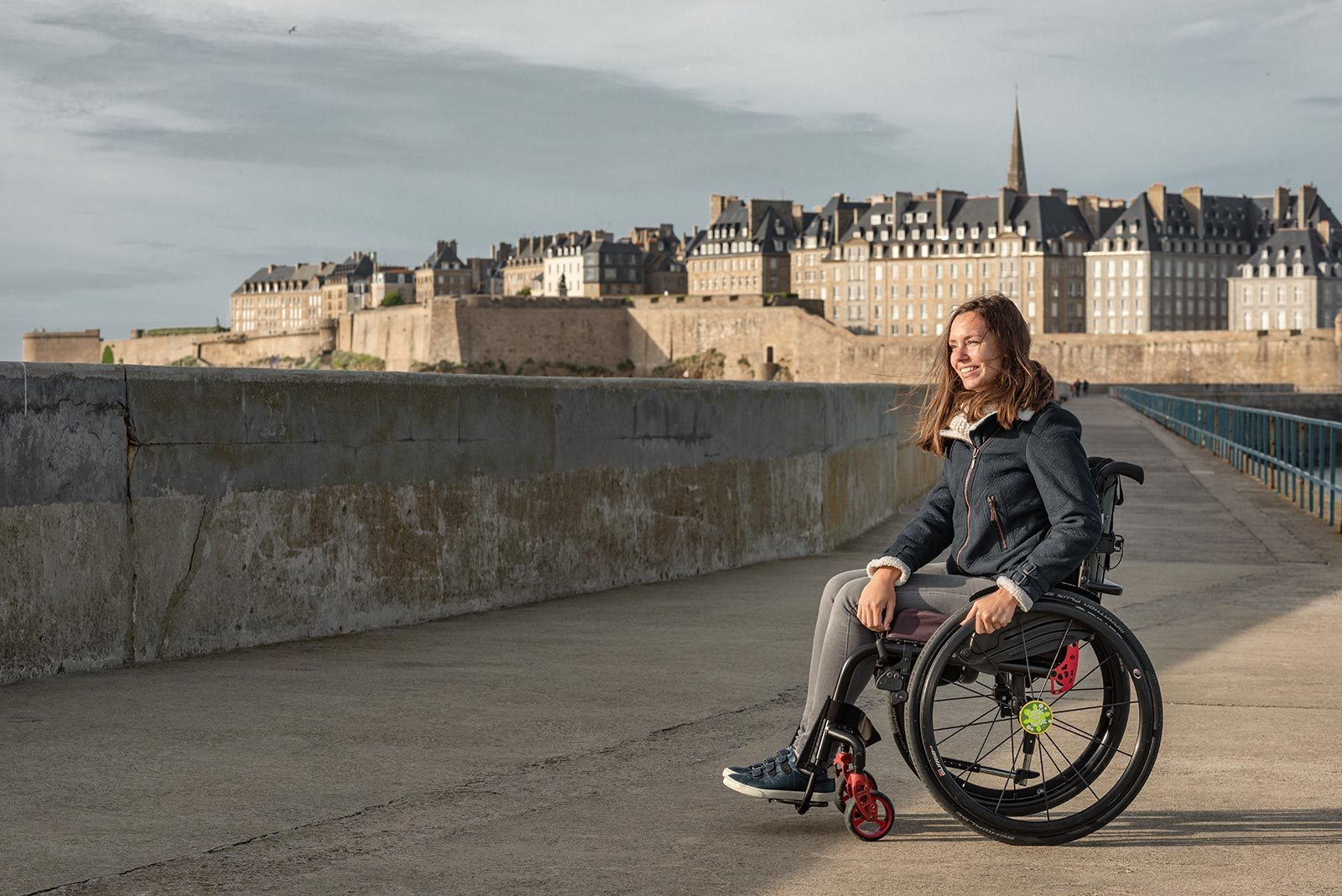 Wheelchair Accessibility of Saint-Malo | Little Miss Turtle | Wheelchair Travel Blog