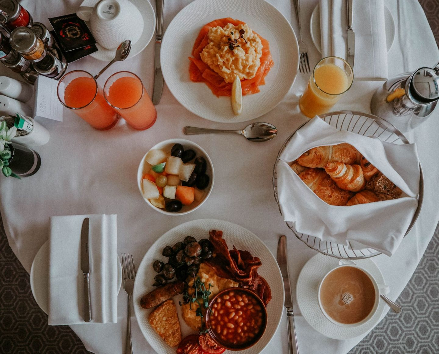 Royal Lancaster Hotel London Kate Winney Breakfast Room Service