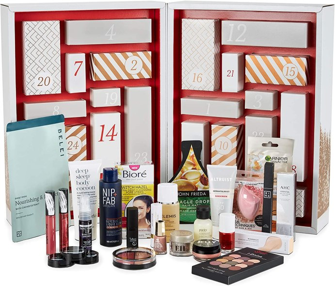 Amazon Beauty Advent Calendar 2020 Little Miss Winney