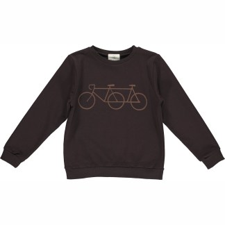 GRO | MADS SWEATSHIRT, BLACK BROWN