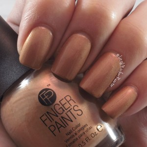 Fingers Paints nail polish swatch in Primitively Posh