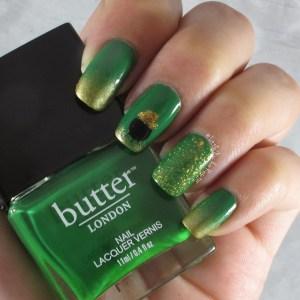 Saint Patricks Day Manicure