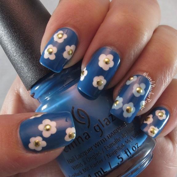 License and Registration Pls Floral Manicure