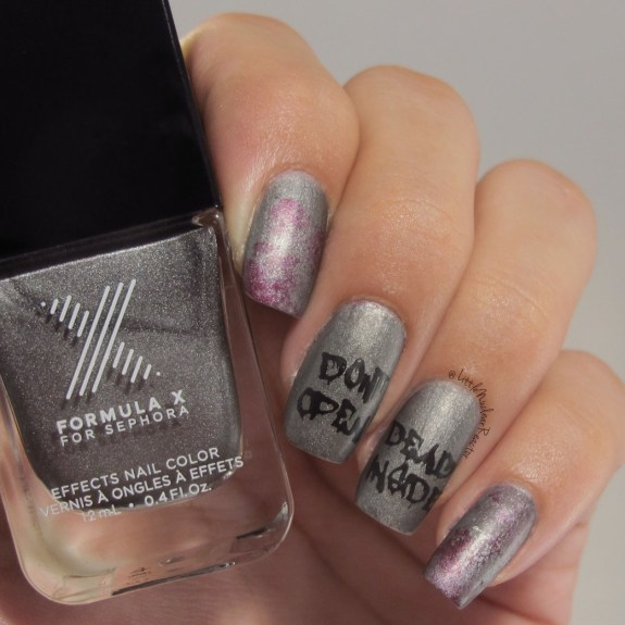 The Walking Dead manicure