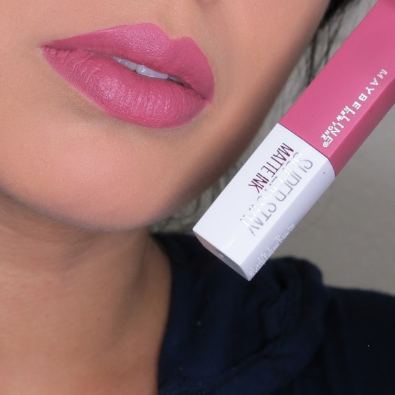 Maybelline SuperStay Matte Ink in Lover Lip Swatch