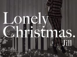 衛詩 Jill Vidal Lonely Christmas 歌詞 MV
