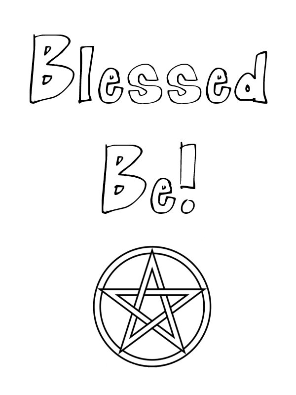 pagan expressions coloring pages – little pagan acorns