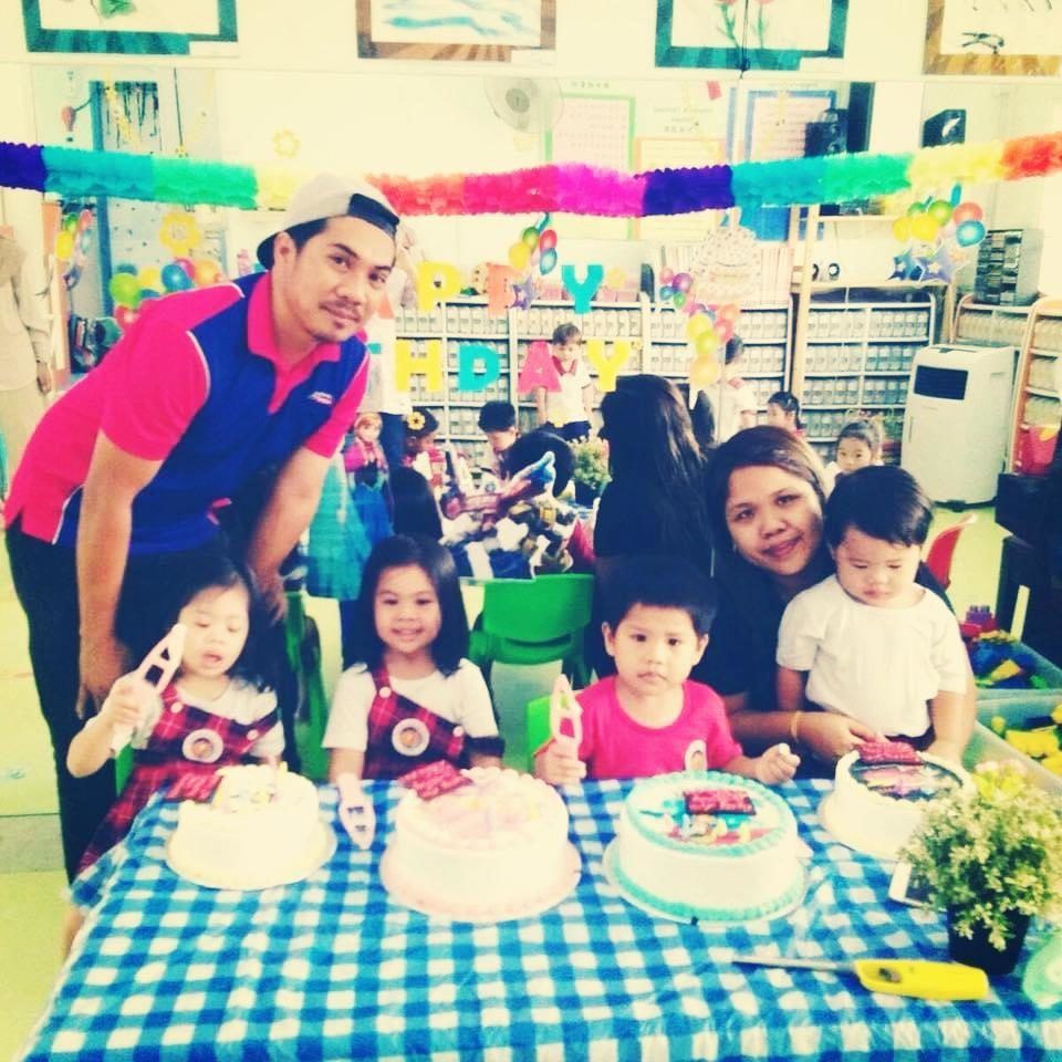 A family with 4 students in Little Palm Preschool!