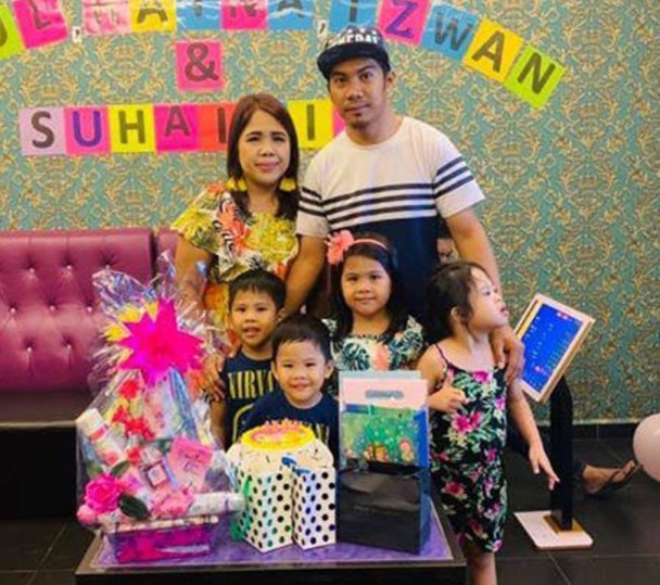 Miss Nuruls Family with students Dhia, Kayla, Adam & Zayn