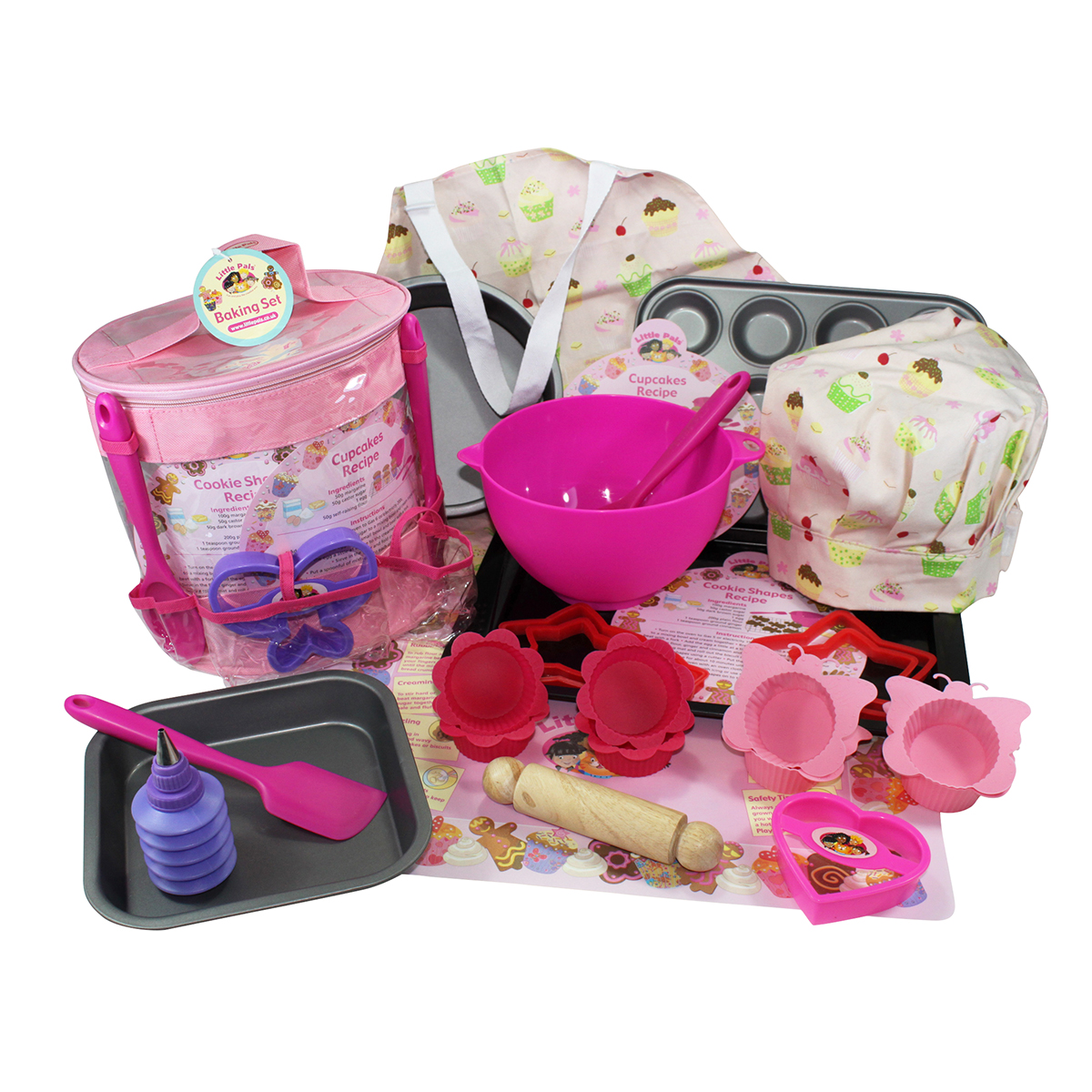 Ultimate Childrens Baking Collection With Mixing Bowl