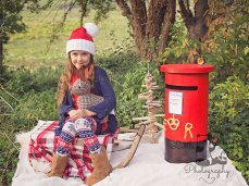 Outdoor Christmas themed photo