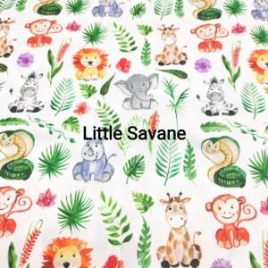 lingettes lavables little savane