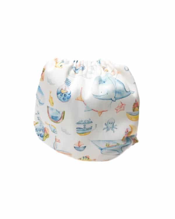 couches de bain lavables pour bébé pink marceau