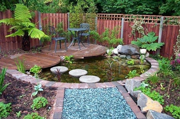15 Beautiful inspiring garden pond design ideas - Little ... on Landscape Pond Design id=72010